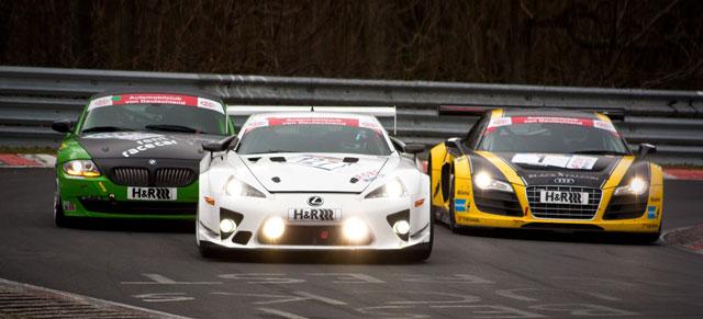 Lexus LFA at Nürburgring
