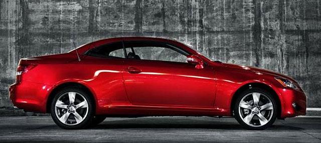 AutoWeek Lexus IS 250C Drivers Log