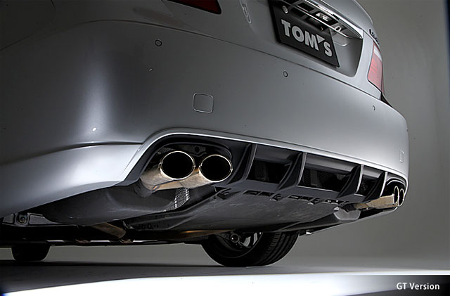 Lexus TOM's LS 460GT Full Exhaust