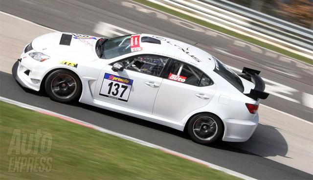 Lexus IS F from Nürburgring