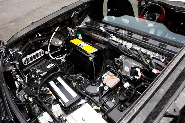 Lexus LFA Exposed Rear
