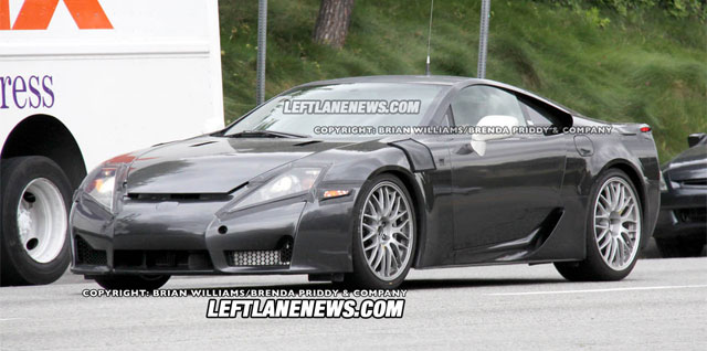 Lexus LFA Hybrid Next Gen SC