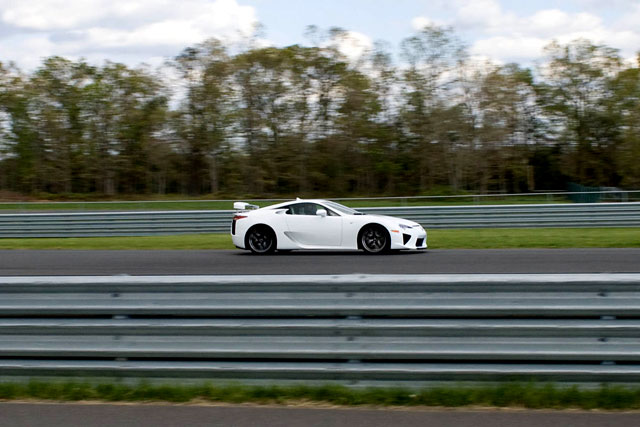 Lexus LFA driven by KREW