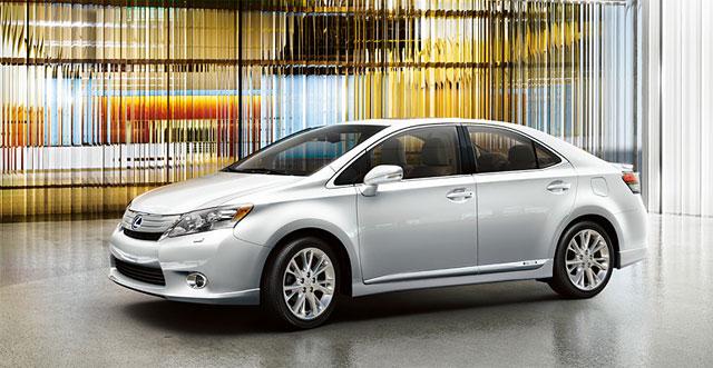 Lexus HS 250h Sales Target Revised