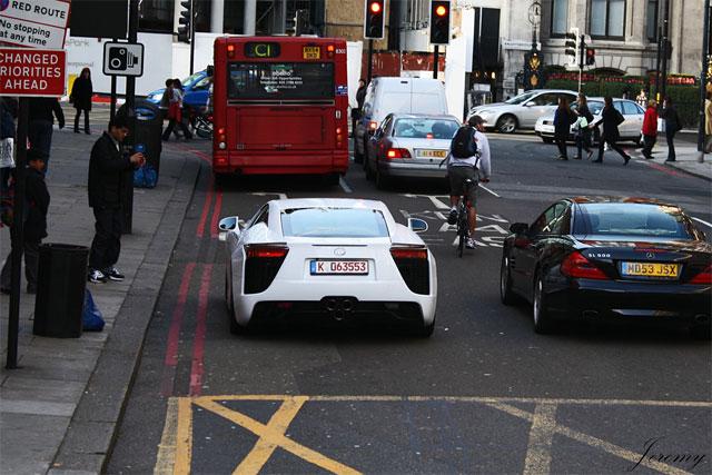 Lexus LFA in London
