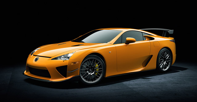 Lexus LFA Nürburgring Package Pricing