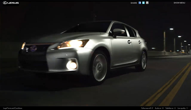 Lexus CT 200h Dark Ride Screenshot 1