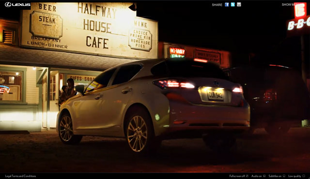 Lexus CT 200h Dark Ride Screenshot 2
