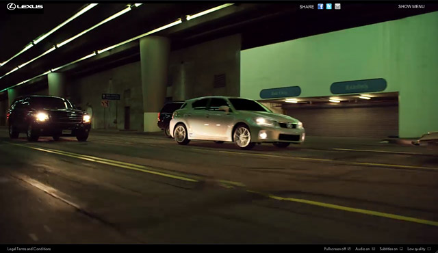 Lexus CT 200h Dark Ride Screenshot 3