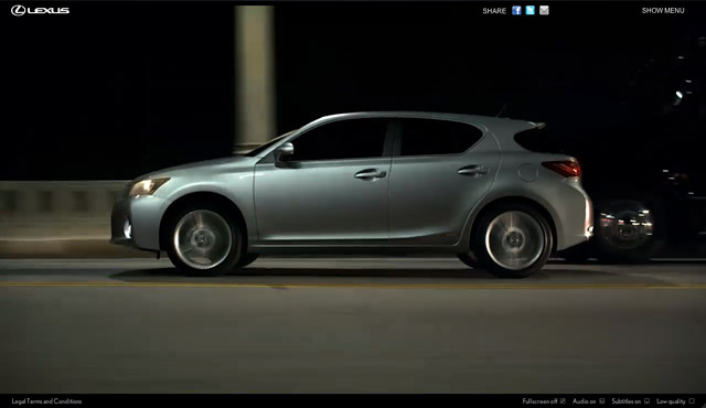 Lexus CT 200h Dark Ride Screenshot 4