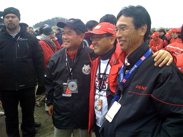 Akio Toyoda @ Nürburgring 24h Race