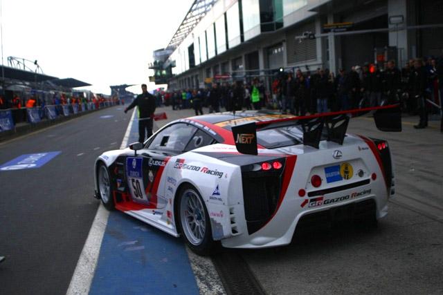 Lexus LFA @ Nürburgring 24h Race