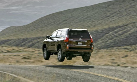 Lexus GX 460 Catching Air