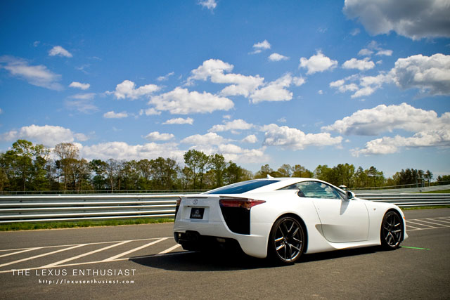 Lexus LFA at New Jersey F-Sport Event