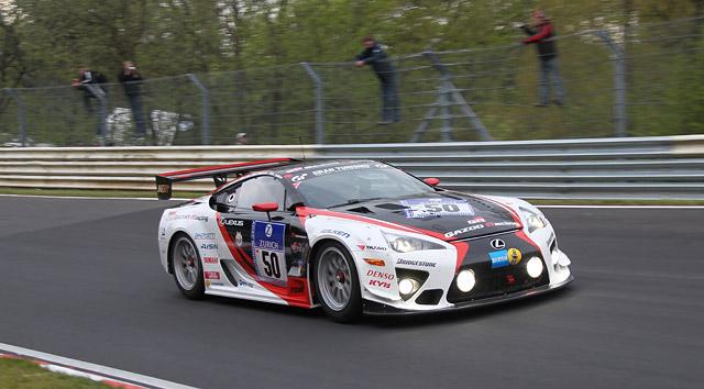 Lexus LFA #51 Wins SP8 Nürburgring 24h race