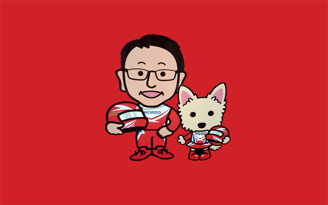 Akio Toyoda & Gazoo Racing Mascot
