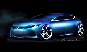 Lexus CT 200h Sketch