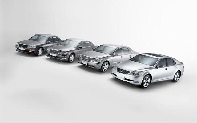 Lexus LS Generations II