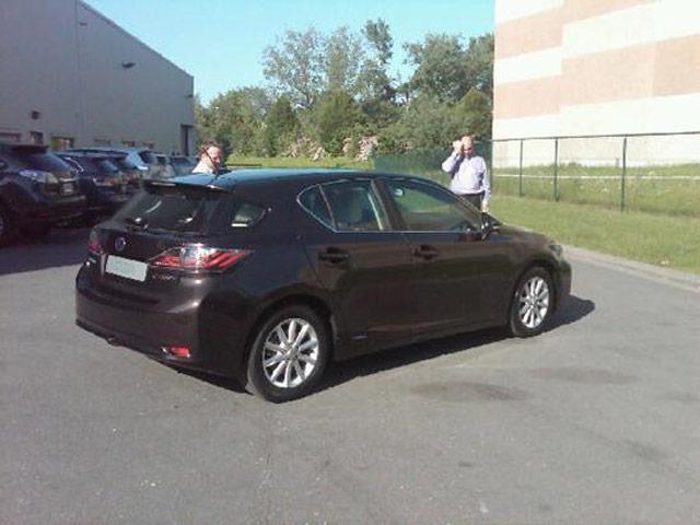 Lexus CT 200h Brown SPice Mica Rear