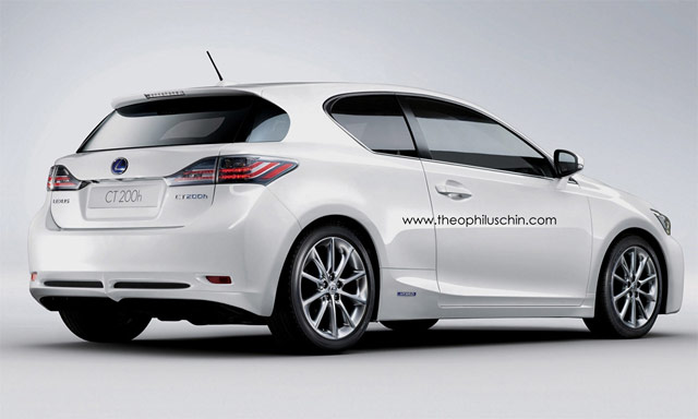Lexus CT 200h Coupe Front