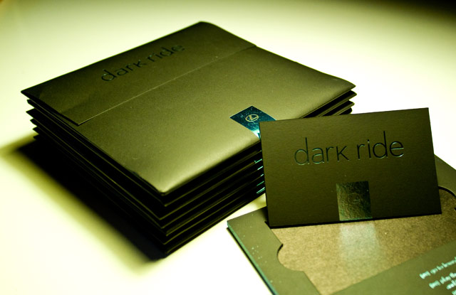 Lexus Dark Ride VIP Cards