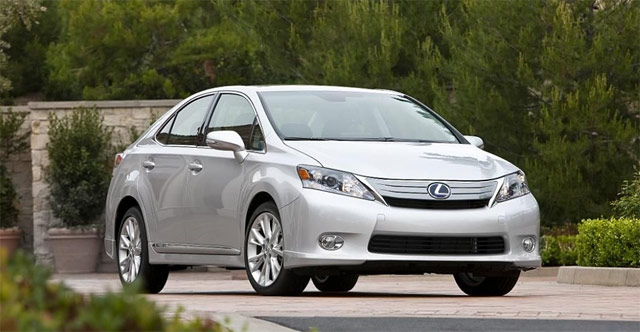 Lexus HS 250h Recalled