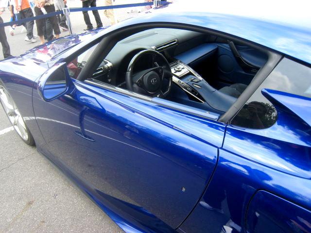 Lexus LFA Pearl Blue LFA Interior