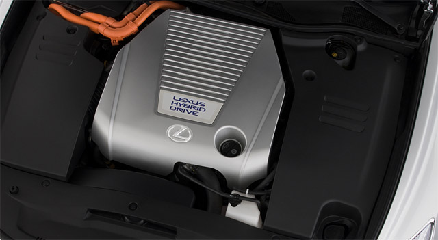 Lexus GS 450h Engine