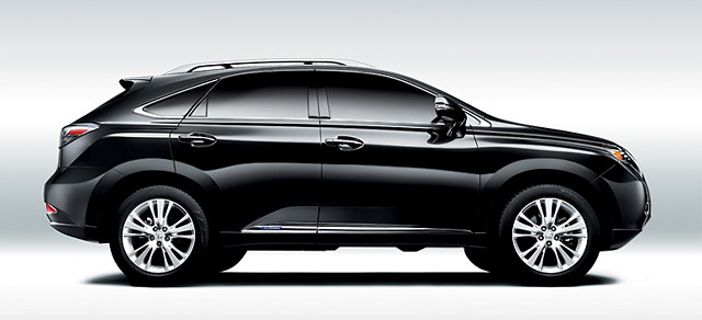 Electric Lexus RX