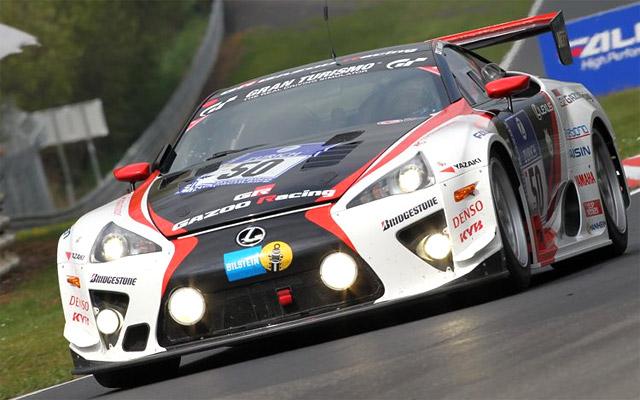 Lexus LFA Racer in FIA GT1