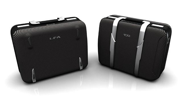 Lexus LFA Tumi Luggage