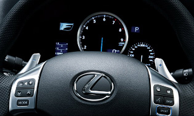 Lexus IS F Center Gauge Cluster