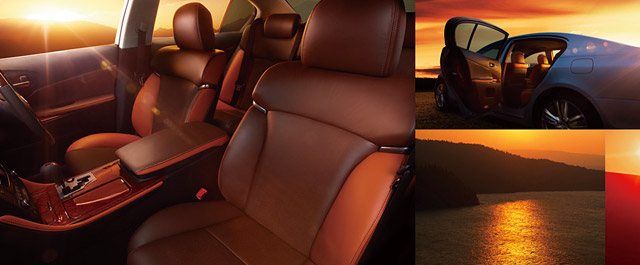 Lexus GS Sunset Interior from Japan