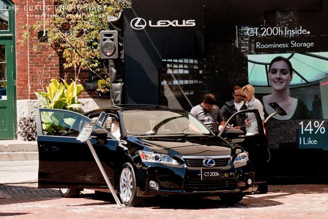 Lexus CT 200h Black Exterior