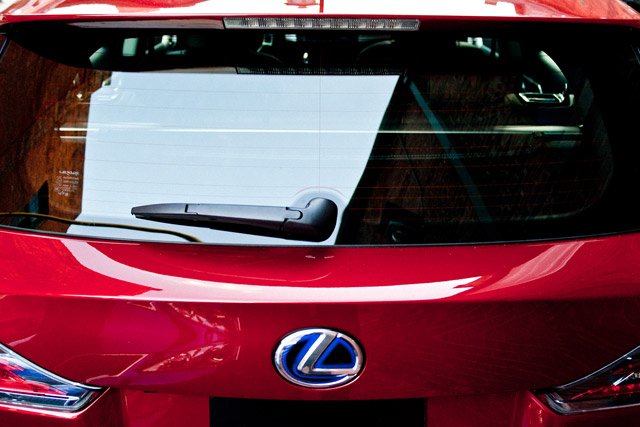 Lexus CT 200h Rear Wiper