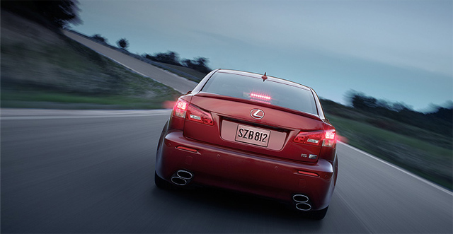 2011 Lexus IS F in USA