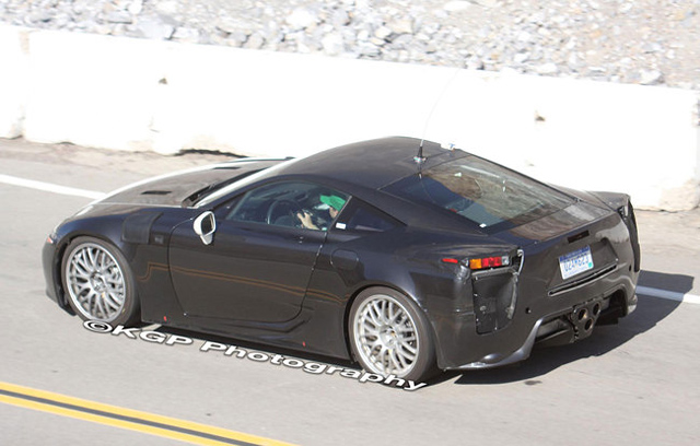 Lexus LFA Plugin Hybrid Right Side