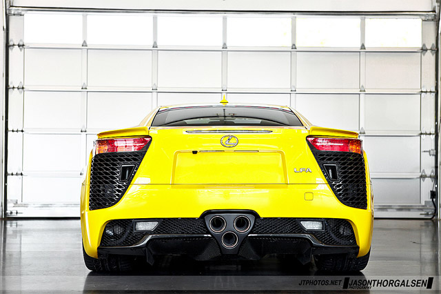 Lexus LFA Yellow in Monticello