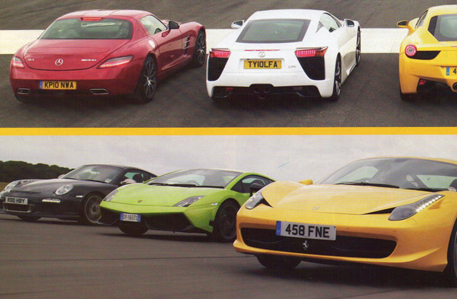 Top Gear Supercar Showdown