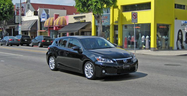 Lexus CT 200h in Los Angeles
