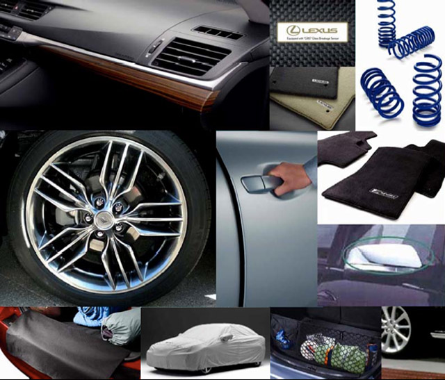 Lexus CT 200h F-Sport Accessories Part 1