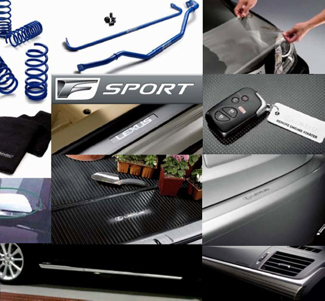 Lexus CT 200h F-Sport Accessories Part 2
