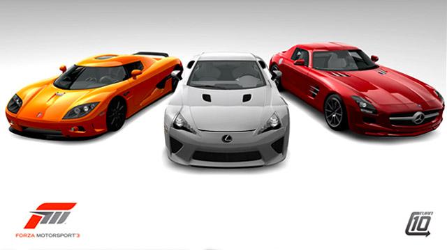 Lexus LFA in Forza Motorsport