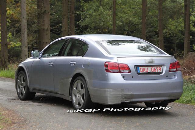 2012 Lexus GS Rear