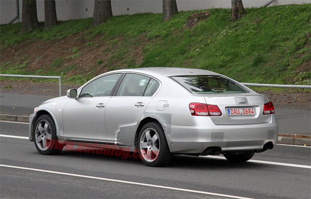 Another Next-Gen Lexus GS mule