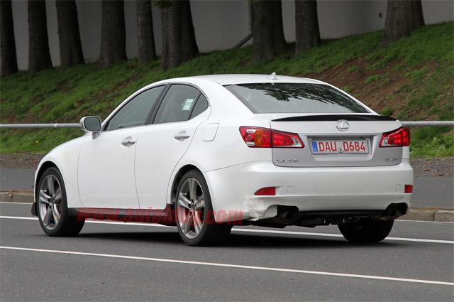 2012 Lexus IS Mule Rear