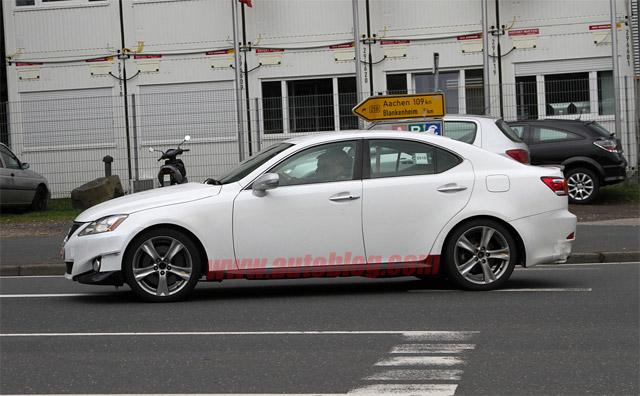 2012 Lexus IS Mule Side Profile
