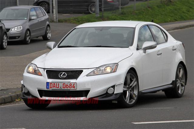 2012 Lexus IS Mule Front View