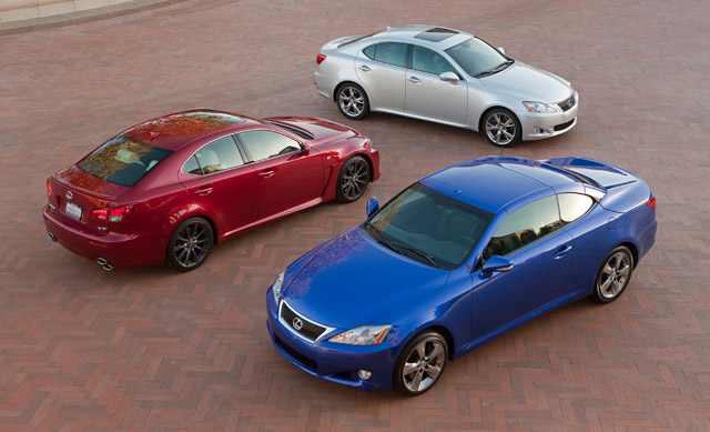 Lexus IS Family Portrait
