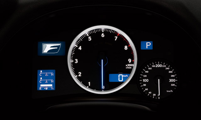 Lexus IS F Instrument Panel